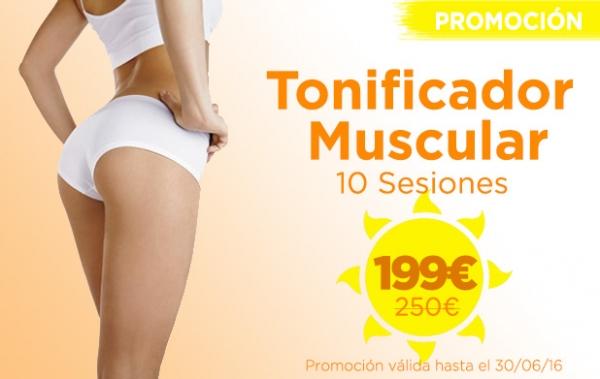Promoción Tonificador muscular en TodoEstetica.com