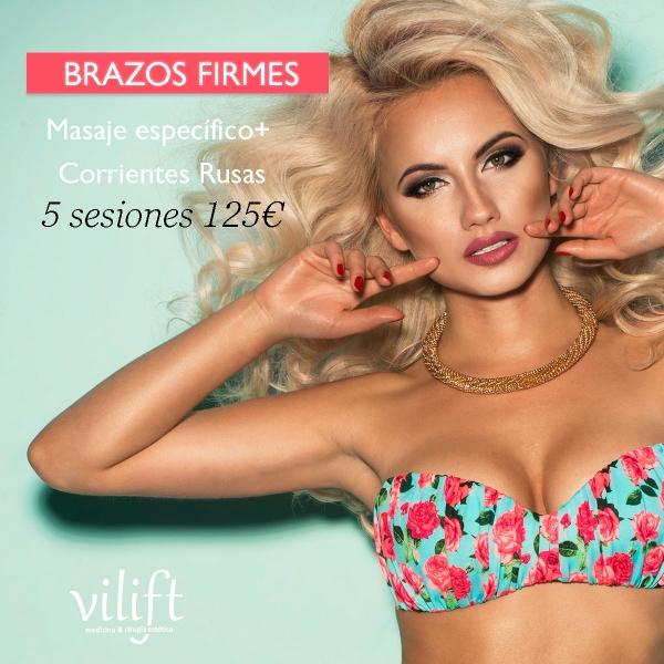 BRAZOS FIRMES VILIFT 5 SESIONES 125€ en TodoEstetica.com