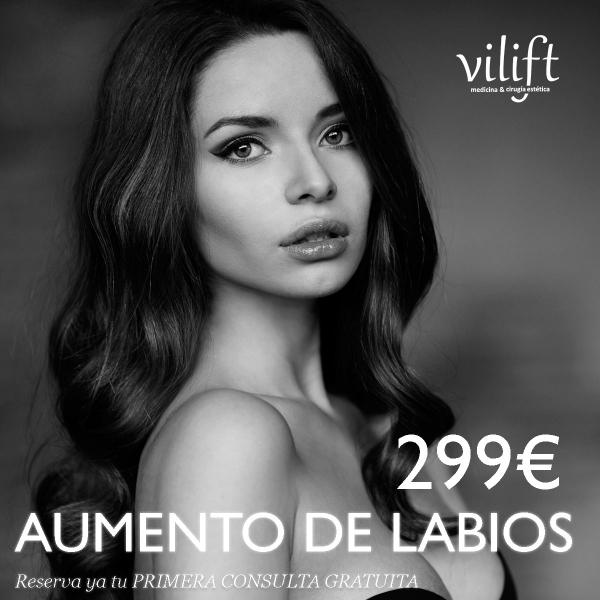 AUMENTO DE LABIOS 299€ en TodoEstetica.com