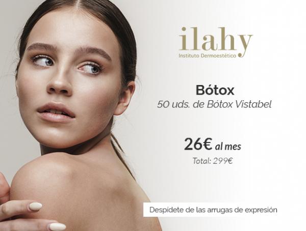 BOTOX 299€ · Adiós arrugas de expresión