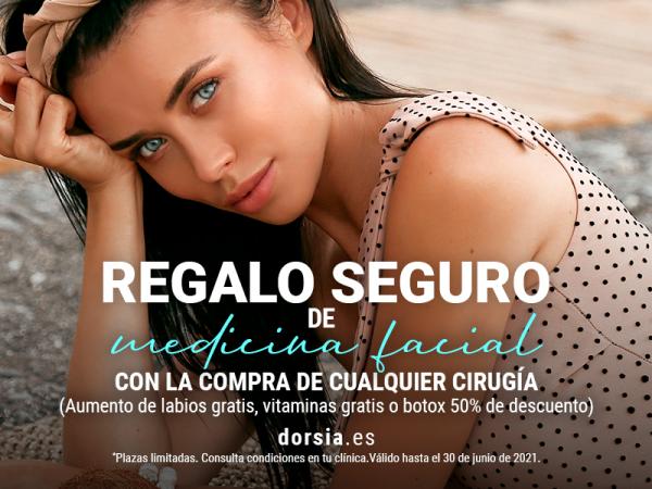 REGALO AL CONTRATAR CIRUGÍA en TodoEstetica.com