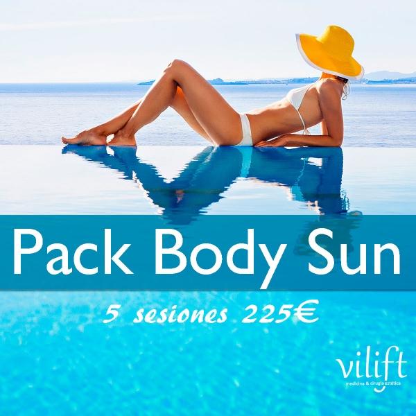 Pack Body Sun 5 sesiones 225€ en TodoEstetica.com