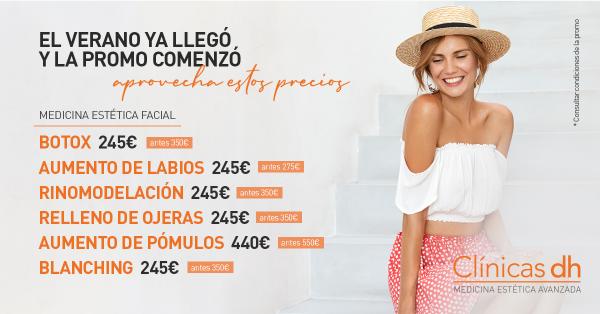 ¡Promoción Verano! Rinomodelación en Castellón por 245 €.