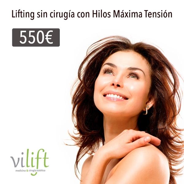 Lifting sin cirugía con Hilos Máxima tensión (Silhouette Soft) 550€*  en TodoEstetica.com