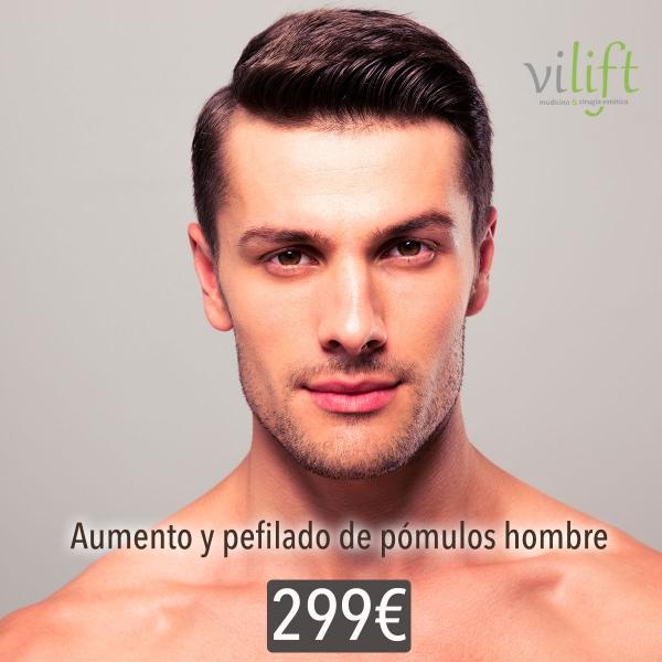 AUMENTO Y PERFILADO DE PÓMULOS HOMBRES 299€ en TodoEstetica.com