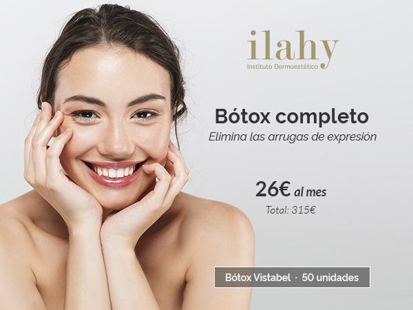 BOTOX 315€ · Adiós arrugas de expresión