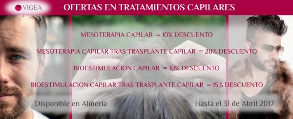 Promociones en Tratamientos Capilares en Almería