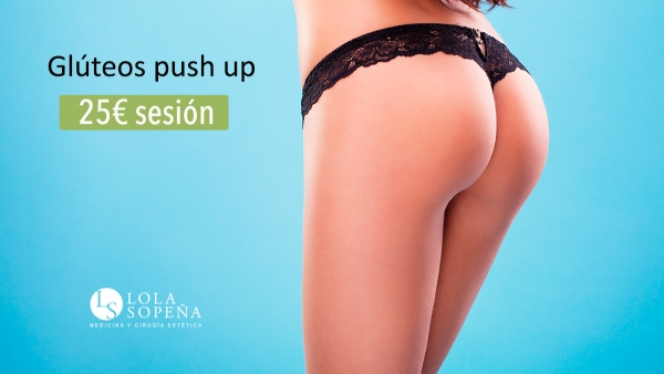 Glúteos Push Up 25€/sesión