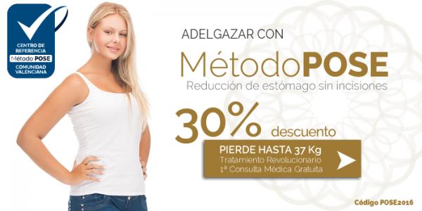 Método POSE. Reducción de estómago sin incisiones. Descuento del 30% en TodoEstetica.com