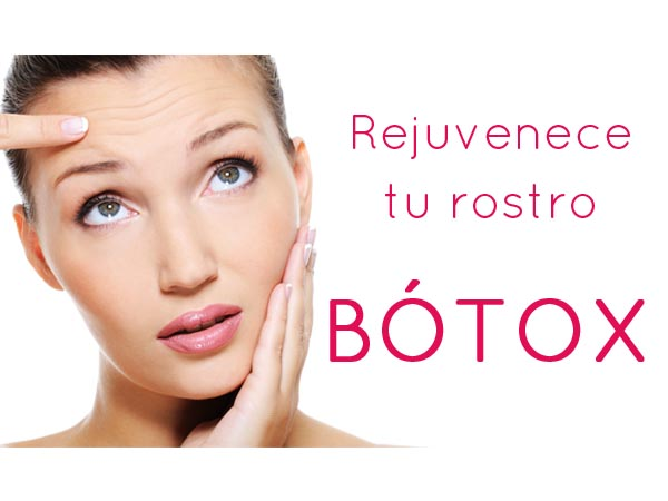 OFERTA: Rejuvenece tu rostro con Bótox en TodoEstetica.com
