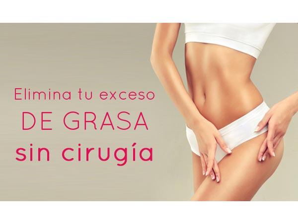 OFERTA: Elimina tu exceso de grasa sin cirugía