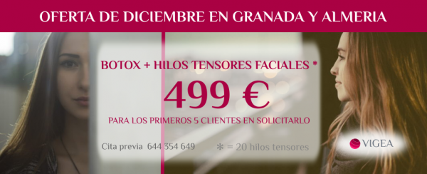 Botox + hilos tensores por 499 euros