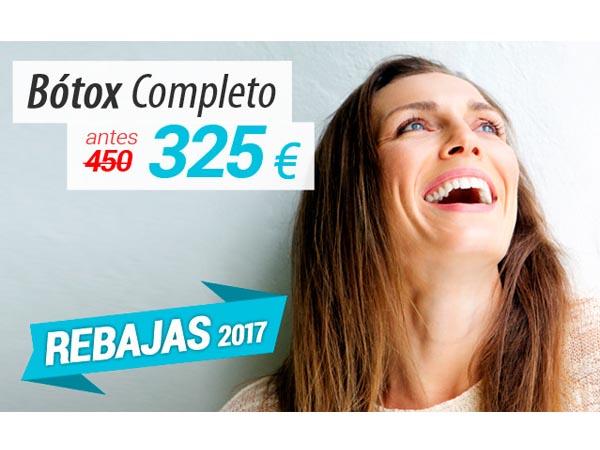REBAJAS: Bótox completo en TodoEstetica.com