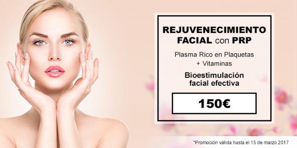 Rejuvenecimiento exprés con la Terapia de Plasma Rico en plaquetas en TodoEstetica.com