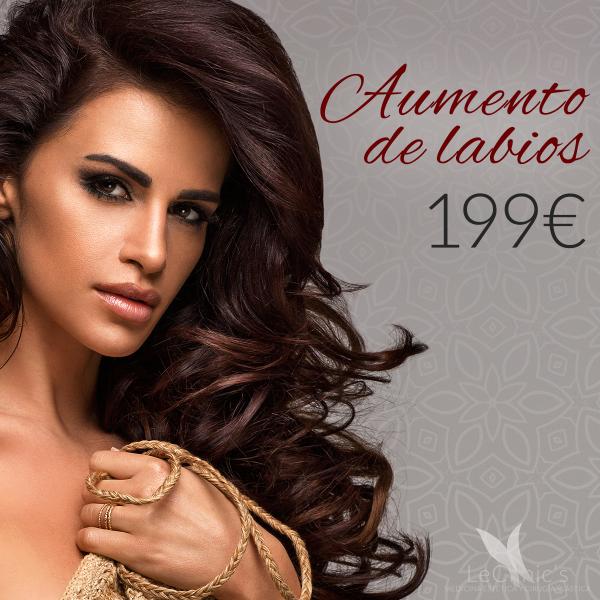 Aumento de labios 199€ ¡Solo en Marzo! en TodoEstetica.com
