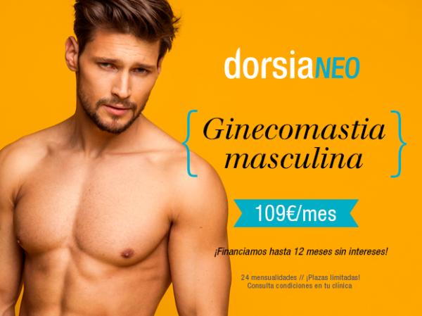 Ginecomastia masculina 109€/mes en TodoEstetica.com