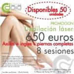 Depilación piernas completas + ingles + axilas : 82 euros sesión en TodoEstetica.com
