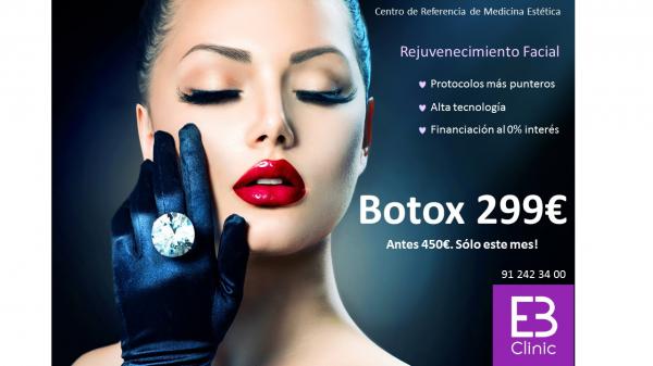 Botox completo 299€ (antes 450€) en TodoEstetica.com