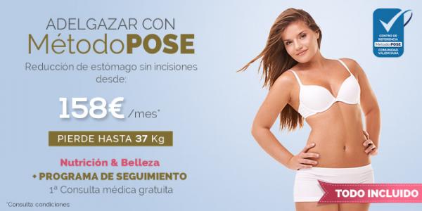 Método POSE, adelgazar sin cirugía en TodoEstetica.com