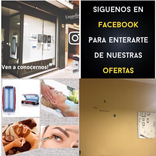oferta en Vanadis Solárium y Estética en Zaragoza