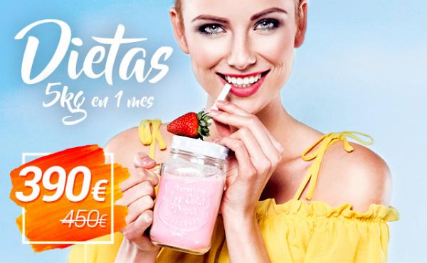 OFERTA: Dieta - 5 kg en un mes en TodoEstetica.com