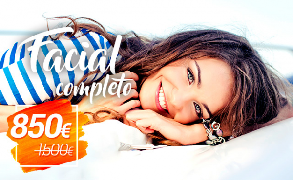 OFERTA: Tratamiento Facial Completo en TodoEstetica.com