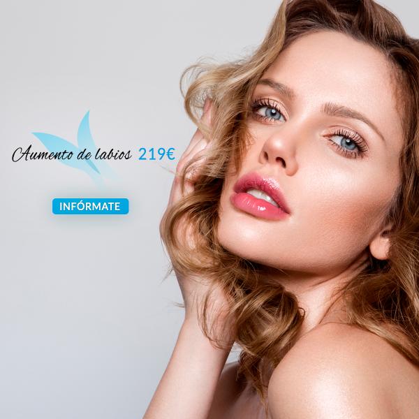 Aumento de Labios por 219€ en TodoEstetica.com