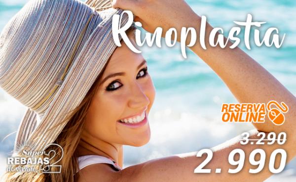 SEGUNDAS REBAJAS: Rinoplastia 2.990€ en TodoEstetica.com