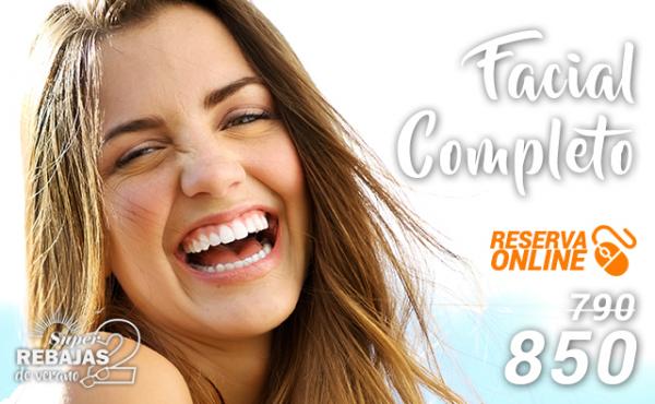 SEGUNDAS REBAJAS: Tratamiento Facial Completo  en TodoEstetica.com