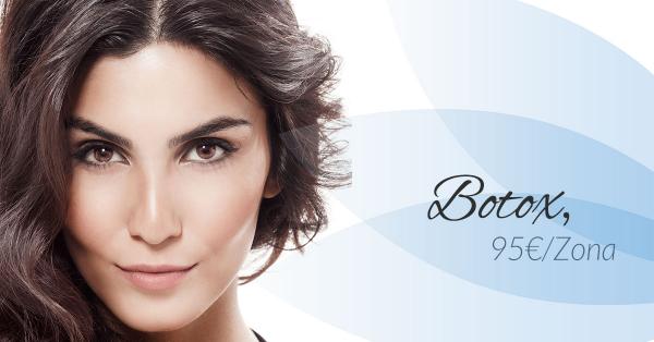 Botox 95€/zona en TodoEstetica.com