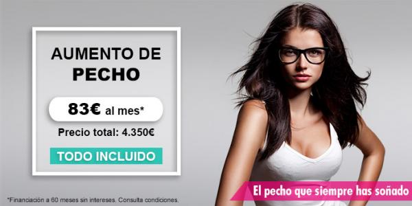 Aumento de pecho a 3.950€ (todo incluido) en TodoEstetica.com