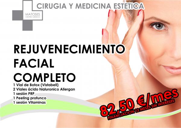 Botox (Vistabell), Ácido Hialurónico (Allergan), PRP, Peeling y Vitaminas