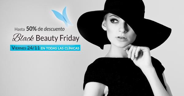 Black Beauty Friday hasta 50% de DESCUENTO  en TodoEstetica.com
