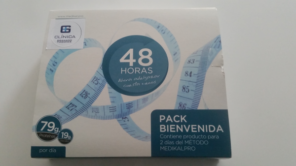 Regalo de nuestro Pack de Bienvenida en Dietas en TodoEstetica.com
