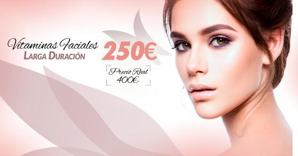 Vitaminas Faciales Larga Duración 250€ (Precio Real 400€) en TodoEstetica.com