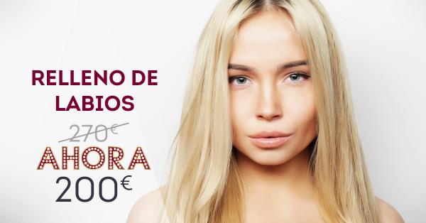 REBAJAS: Relleno de Labios  en TodoEstetica.com