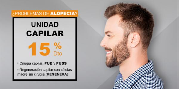 15% descuento en tratamientos capilares en TodoEstetica.com
