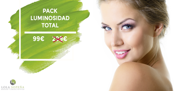 Pack Luminosidad Total por sólo 99 €  en TodoEstetica.com