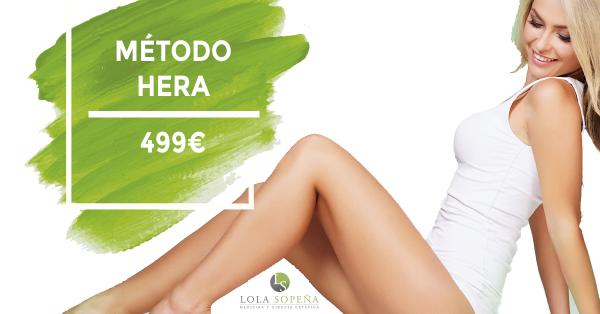 Metodo Hera con Clinicas Lola Sopeña - 499 € en TodoEstetica.com