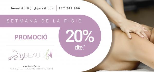 SEMANA FISIO 20% DE DESCUENTO en TodoEstetica.com