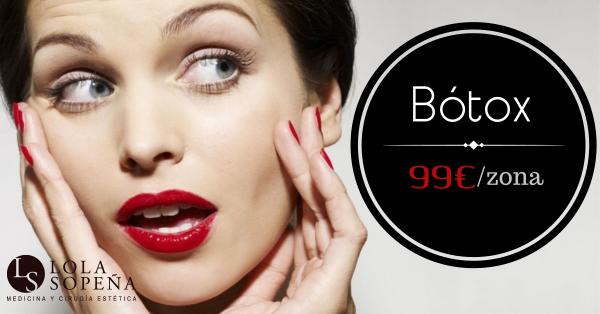 Bótox en zona por tan sólo 99 €  en TodoEstetica.com