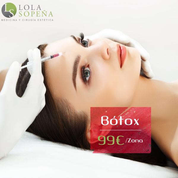 Botox 99€ Zona en TodoEstetica.com