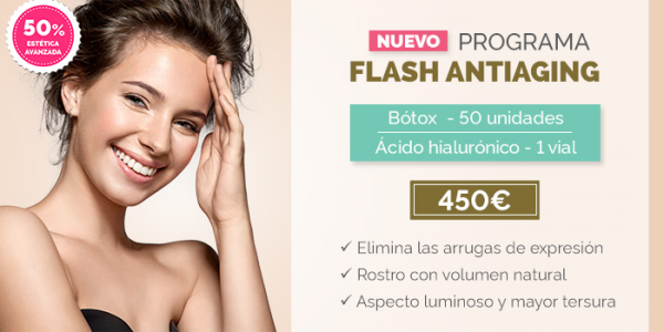 Programa Flash Antiaging en TodoEstetica.com