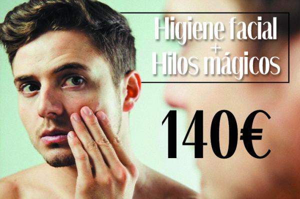 Higiene Facial + Hilos mágicos 140€ en TodoEstetica.com