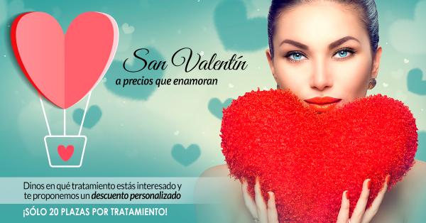 Descuentos especiales por San Valentín en TodoEstetica.com