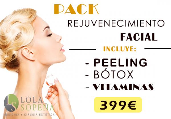 399€ Pack de Rejuvenecimiento Facial en TodoEstetica.com
