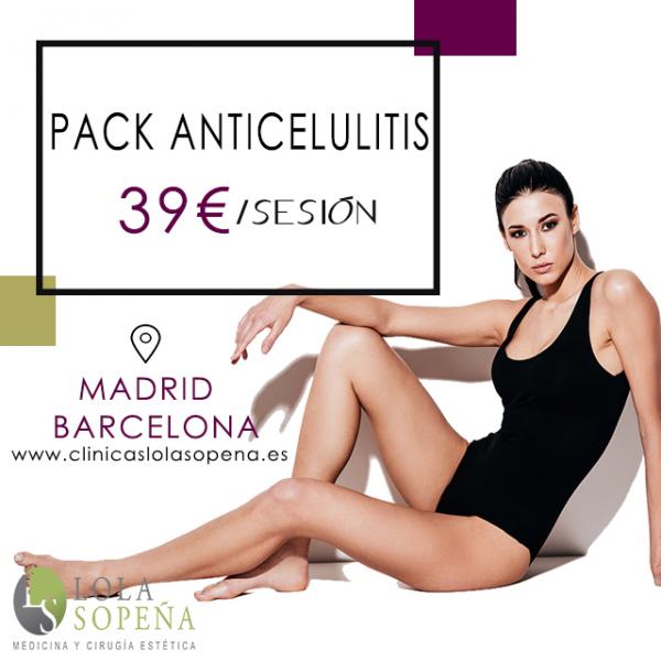 39€/sesión Celulitis Severa en TodoEstetica.com