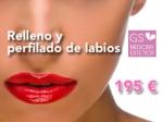 RELLENO Y PERFILADO DE LABIOS POR 195 € en TodoEstetica.com