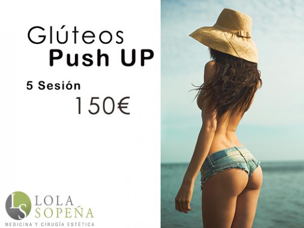 5 sesiones de Glúteos Push UP en TodoEstetica.com