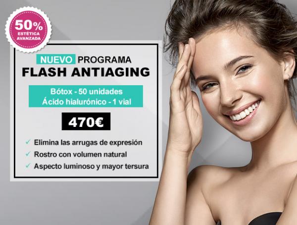 Programa Flash Antiaging en TodoEstetica.com